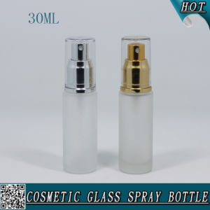 30ml Round Empty Glass Spray Bottle for Perfume Lotion pictures & photos