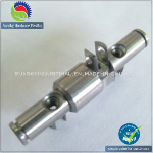 CNC Machining Stainless Bar Shaft Bush 2582 pictures & photos