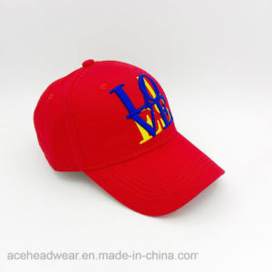 Fashion Wholesale Embroidered Letter Baseball Cap (LW004) pictures & photos