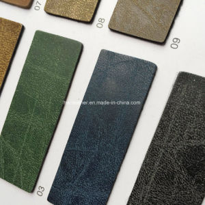 Synthetic PU Leather for Bags Hx-B1704 pictures & photos