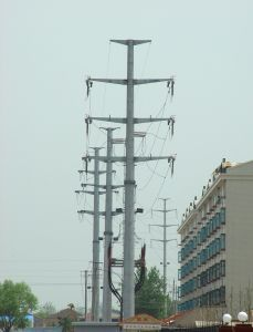 Specialized Manufacturing Angle Steel Transmission Tower pictures & photos