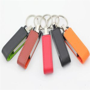Promotional Popular Leather Funny USB Flash Drive pictures & photos