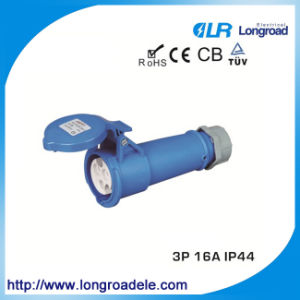 IP44 16A Electric Industrial Plug and Socket pictures & photos