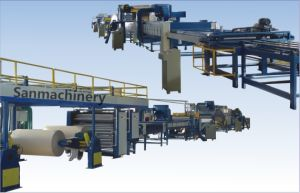 Automatic Honeycomb Cardboard Production Line pictures & photos