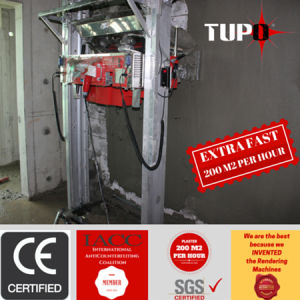 Tupo Brand Mortar Super Fast Wall Rendering Machine for Ethiopia pictures & photos