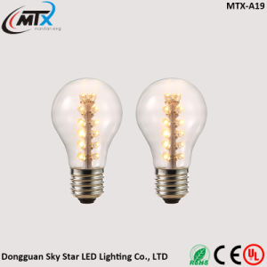 A19 2W Warm White Energy Saving Vintage LED Edison Bulb pictures & photos