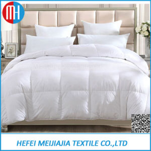 Cheap High Thread Bleached Cotton Feather Down Comforter Quilt Case pictures & photos