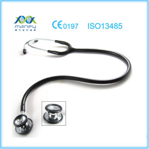 Medical Dual Head Stethoscope (MN-MS312) pictures & photos