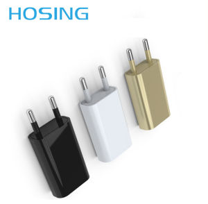 Portable Single USB 5V1a Mobile Power Supply USB Travel Charger pictures & photos