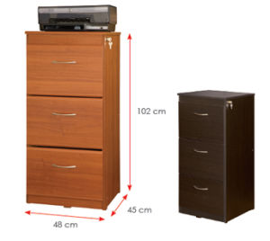 Wooden Wardrobe /Nightstands /Shoes Case /Side Cabinet (HX-DR366) pictures & photos
