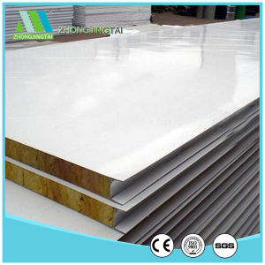 Fire Resistant Rockwool Color Steel Sandwich Wall Panel pictures & photos