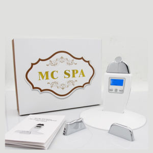 Portable Microcurrent Anti -Aging Machine with 3 Treatment Heads Galvanic Micro Current SPA pictures & photos
