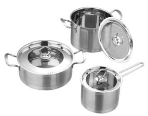 24cm Diameter Home Kitchen Application Stainless Steel Cook Pot pictures & photos