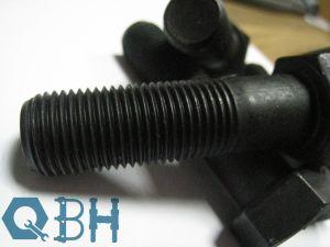 DIN931 Hex Bolts Calss/Grade 12.9 Black, Fastener, Hardware pictures & photos