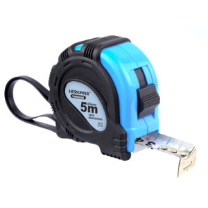 High Quality Nylon Coat Tape Measure with Rubber Grip pictures & photos