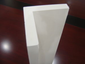Foam PVC Profile (Embossed) /PVC Foam Profile/ Co-Extrusion/Outside Corner pictures & photos