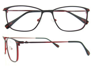 Popular Super Slim Stainless Steel Eyeglasses Frames for Women pictures & photos