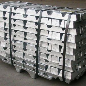 Silver White Sn 99.9 99.95 99.99 Tin Ingot Supplier pictures & photos