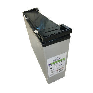 High Performance Lead Acid Battery with Front Terminal LPF12-100h pictures & photos