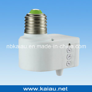 2012 New Design E27 B22 Microwave Sensor Lamp Holder pictures & photos