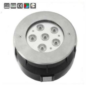 Top Quality 6X1w/6X3w LED Swimming Pool Light pictures & photos
