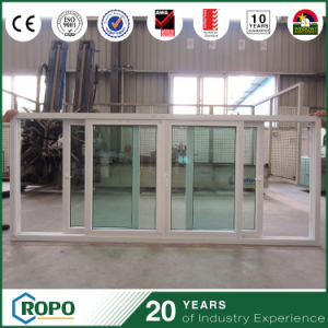 PVC Double Glazing Triple Pane Sliding Windows China Price pictures & photos