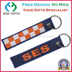 Rush Order Wholesale Embroidery Keychain /Baggage Tag pictures & photos