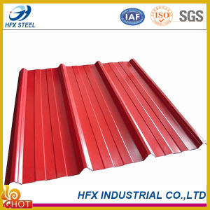 Trapezoidal Corrugated Ibr Steel Roofing Sheet with Color Coated pictures & photos