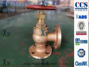 Bronze Marine Globe Angle Valve JIS 5k F7301 F7302 pictures & photos