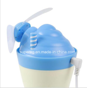 New Arrival Mini LED Light Ice Cream Lamp Air Fan pictures & photos