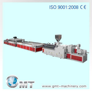 PVC WPC Ceiling Panel Plastic Product Extruding Making Machine Line pictures & photos