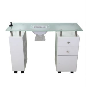 Good Quality Galss Manicure Table pictures & photos