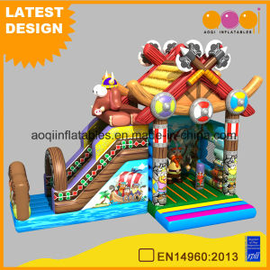 Viking Combo Inflatable Slide Bouncer for Kids (AQ01744) pictures & photos