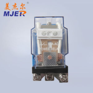 Mjer 60A 12VDC Electronic Power Relay Jqx-58f Industrial Relay pictures & photos