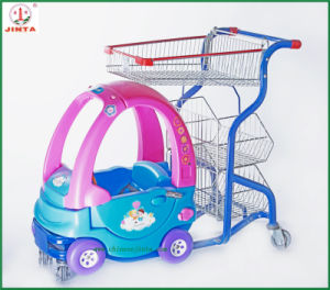 Supermarket Use Kids Shopping Trolley Shopping Cart (JT-E16) pictures & photos