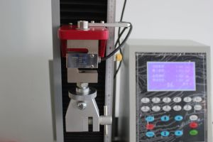 Single Column Dynamometer Fabric Tensile Strength Adhesion Tester pictures & photos
