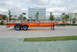40 Feet Tandem Axles Container Chassis Semi Trailer pictures & photos