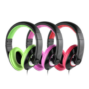 Multimedia USB and 3.5mm Plug Over Ear Headphone for Sales