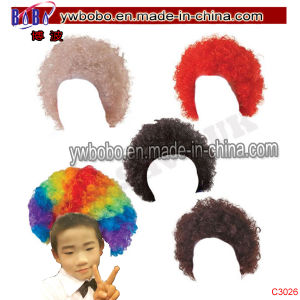 Kids Curly Afro Pop Clowen Wig Birthday Party Supplies (C3026) pictures & photos