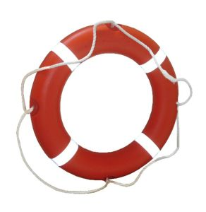 Solas Standard Polyethylene Foam Life Buoy Working Lifesaving for Ship pictures & photos