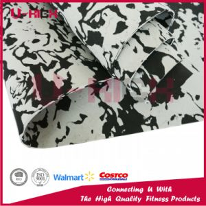Eco-Friendly TPE Camo Yoga Mat Pilates Exercise pictures & photos