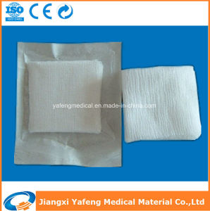 Eo Sterile Cotton Gauze Swab with Folded Edges pictures & photos