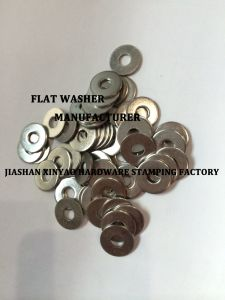 Stainless Steel Flat Washer DIN9021/DIN125 pictures & photos