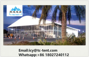 Large Curve Tent with High Quality Outside Tent Sale 500 pictures & photos
