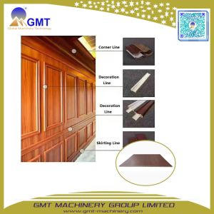 WPC PVC Wood+Composite Plastic Wall Panel Exterior Extrusion Production Line pictures & photos