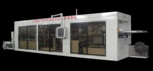 BOPS Multi Station Plastic Thermoforming Machine for Food Packaging pictures & photos