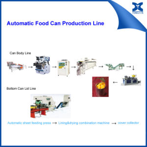 Automatic Round Food Can Combination Machine pictures & photos