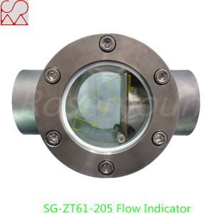 Flap Type Butt Welding Connection Flow Rate Indicator pictures & photos