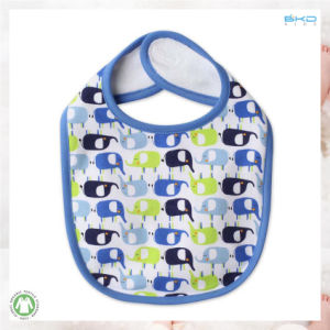 All Over Printing Baby Products Soft Cotton Baby Bib pictures & photos