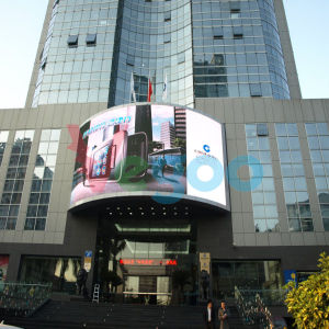 Full Color Outdoor Advertising P6 LED Display Cabinet for LED pictures & photos